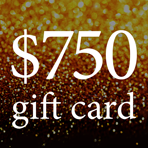 $750 Gift Card